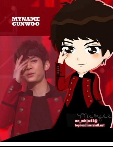 Gunwoo fanart