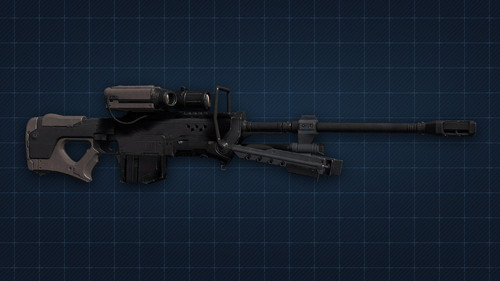 Halo 4 Sniper rifle