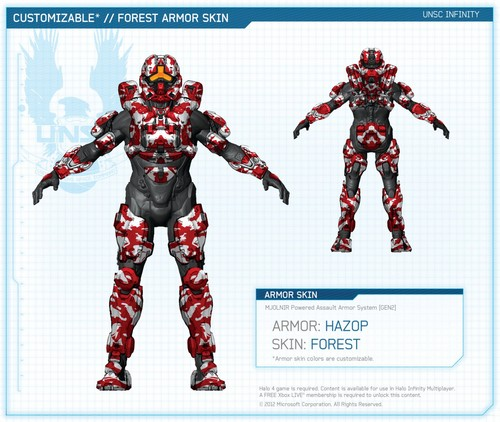 Halo 4 स्किन्स