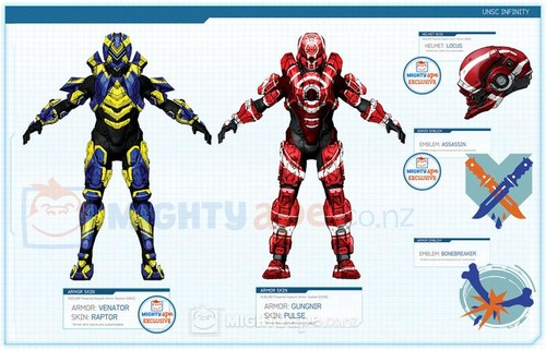 Halo 4 Skins