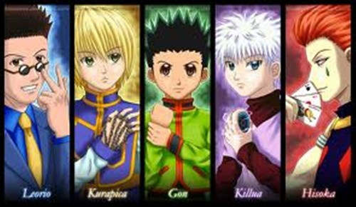 hunter x hunter wallpaper probably containing a stained glass window and animê titled Hanta Hanta