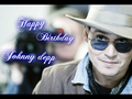 Happy birthday dear johnny depp