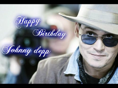 Happy birthday dear johnny depp