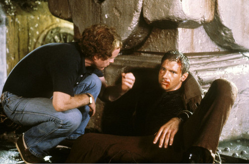 Harrison Ford and Ridley Scott - blade-runner Photo