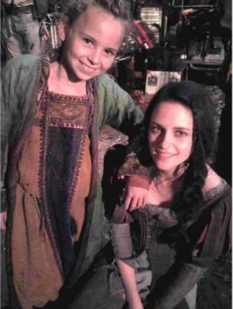 Hattie and Snow White