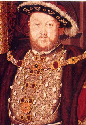 Henry VIII (28 June 1491 – 28 January 1547)
