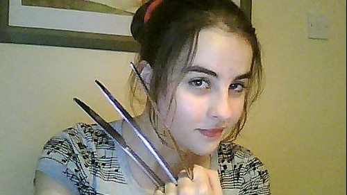 Here is a better pic of me being Wolverine XD