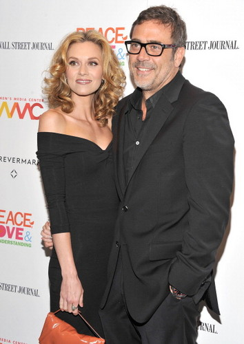 """One Tree Hill wallpaper containing a business suit titled Hilarie  Burtonattend the """"Peace, Love And Misunderstanding"""" New York Screening (June 4, 2012)"""