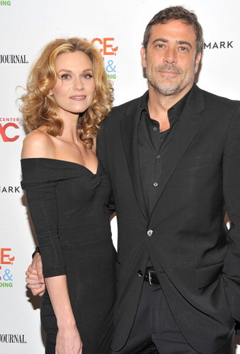 "One baum hügel Hintergrund with a business suit, a suit, and a well dressed person titled Hilarie Burtonattend the ""Peace, Liebe And Misunderstanding"" New York Screening (June 4, 2012)"