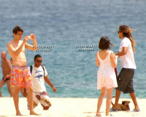 Holiday in Fernando de Noronha Carol and Kaka