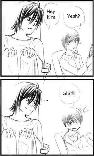 How Death note ended in my head.