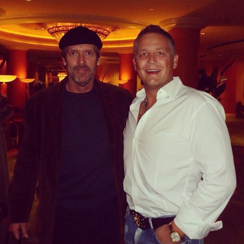 Hugh Laurie -Dr.House- in The Beverly Hills Hotel