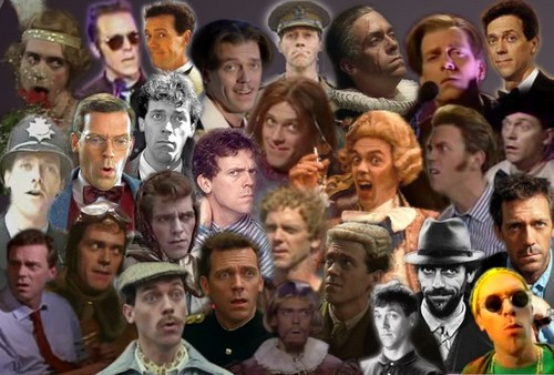 Hugh Laurie Faces