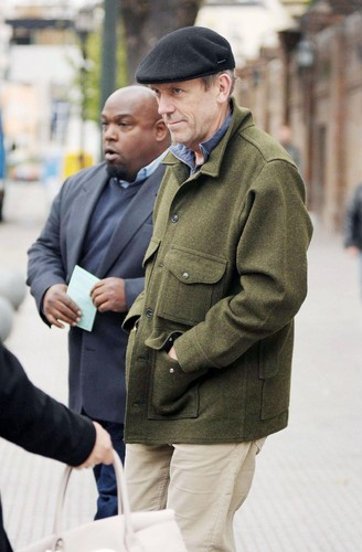 Hugh Laurie visiting Buenos Aires 06.06.2012