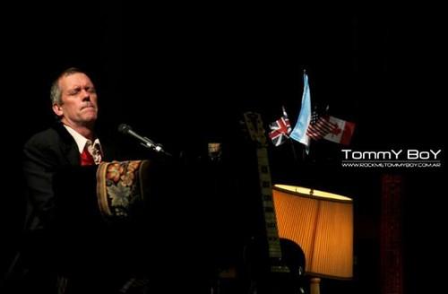 """Hugh Laurie concert """"Luna Park"""" - Buenos Aires."""