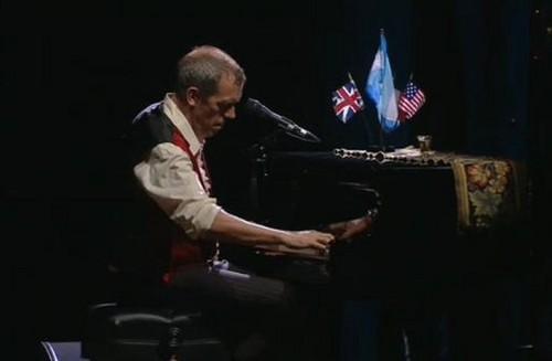 """Hugh Laurie concert """"Luna Park"""" - Buenos Aires"""