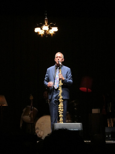 Hugh Laurie @ the Benaroya Hall, Seattle 04.06.2012