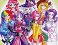 Humanized ponies ( 17) - humanized-my-little-pony photo