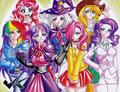 Humanized ponies ( 17)