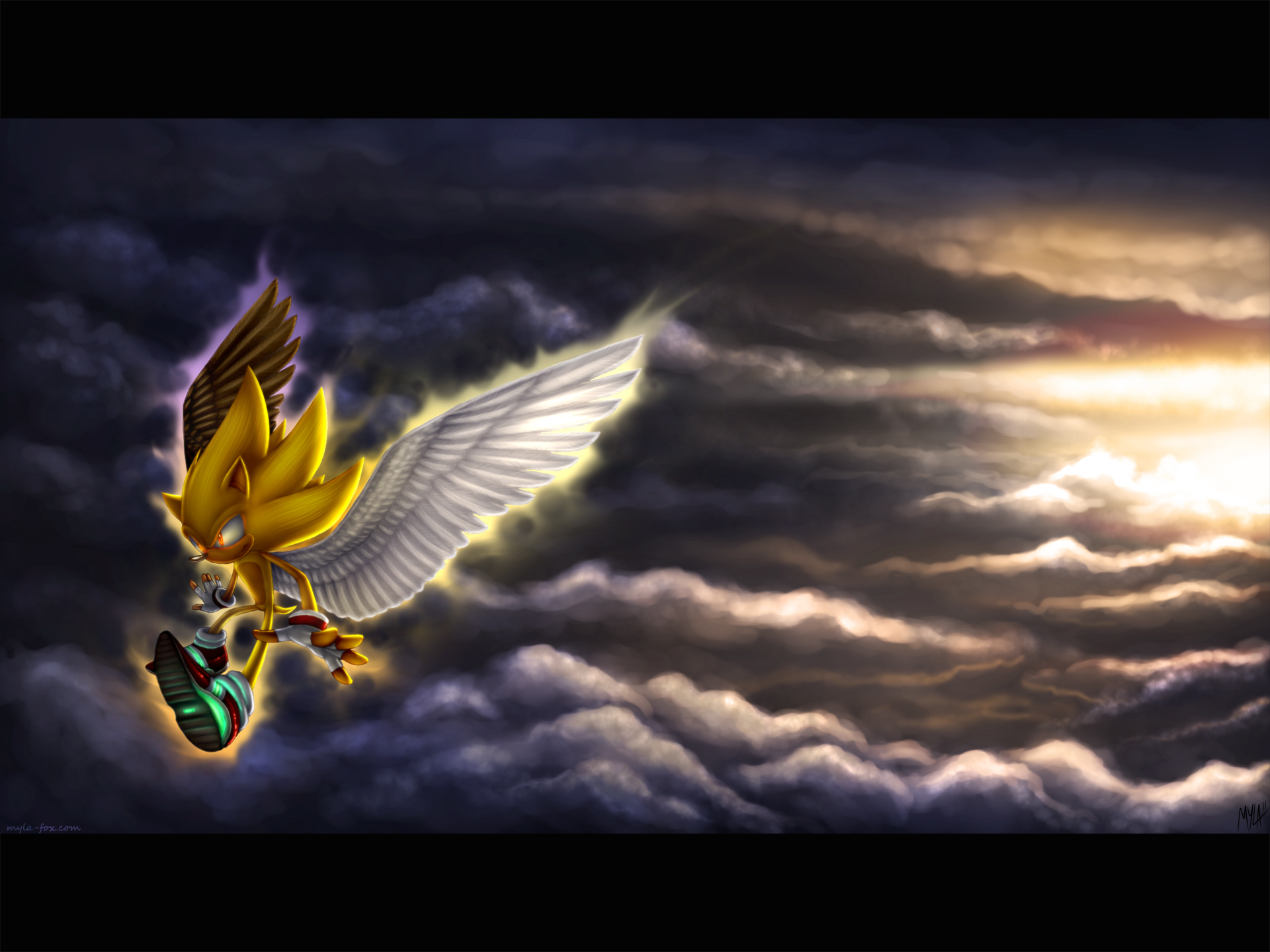 saw an angel - Sonic the Hedgehog Fan Art (31029563) - Fanpop