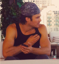 Ian Somerhalder wallpaper probably containing a sign and a bouquet called Ian Somerhalder..♥
