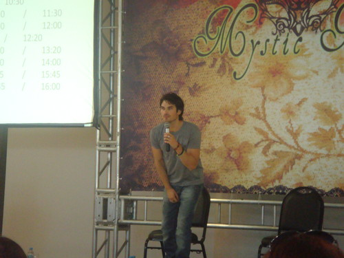 Ian at Mystic Moon Convention