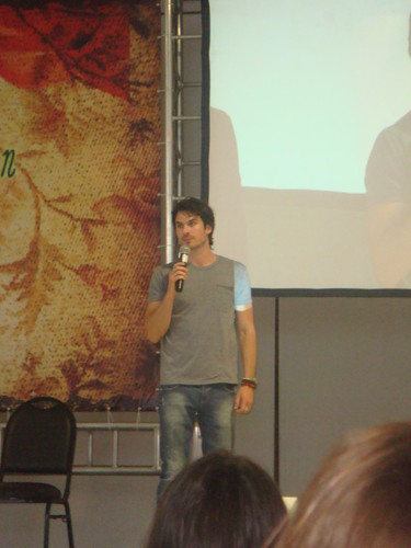 Ian at the Mystic Moon Convention 06.02.2012 - ian-somerhalder Photo