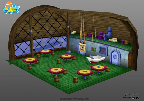 Inside The Krusty Krab