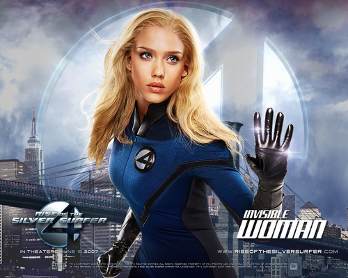 Invisible Woman - cynthia-selahblue-cynti19 Wallpaper