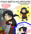 Itachi meets his opposite! - itachi-uchiha photo