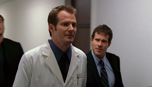 Jack Coleman playing a doctor in Nip/Tuck