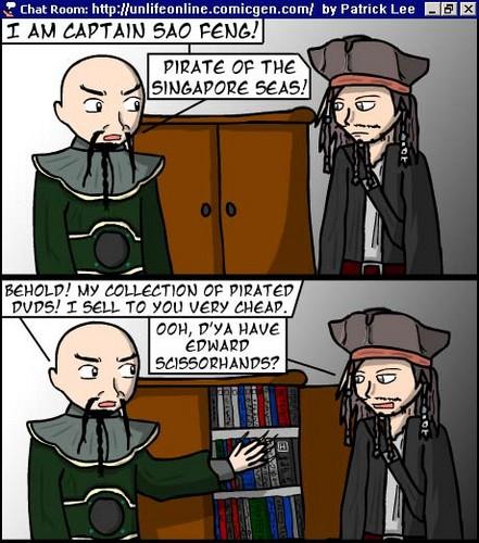 Jack Sparrow meets Sao Feng