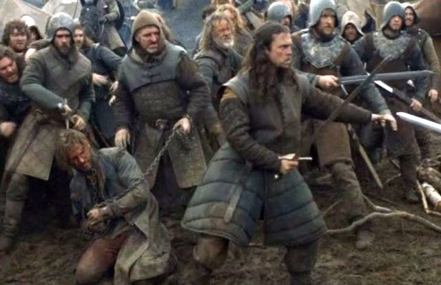 Jaime and Stark soldiers