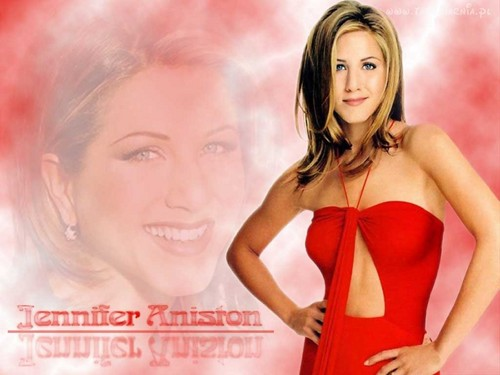 Jennifer Aniston wallpaper probably containing a bustier called Jennifer Aniston