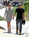 Jennifer Lopez And Family Seen At The Round Meadow Elementary School In Calabasas [3 June 2012]