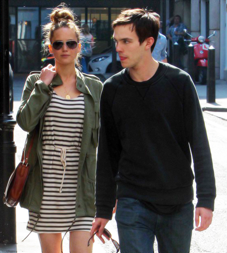 Jennifer and Nicholas in London