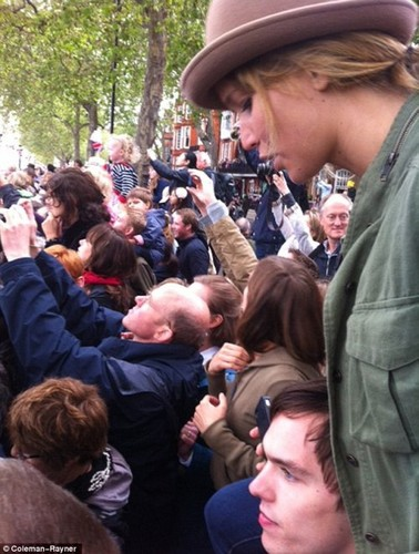Jennifer and Nicholas at The Queens Jubilee
