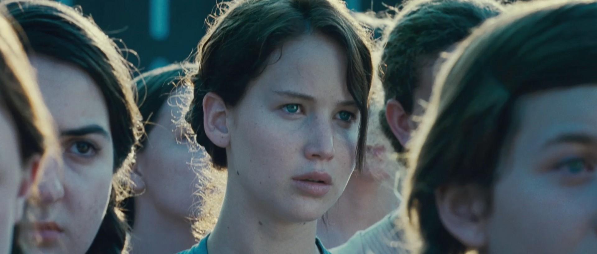 Jennifer as The Hunger Games' Katniss Everdeen