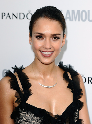 Jessica Alba wallpaper containing a portrait called Jessica - Glamour Women of the Year Awards 2012 - May 30, 2012