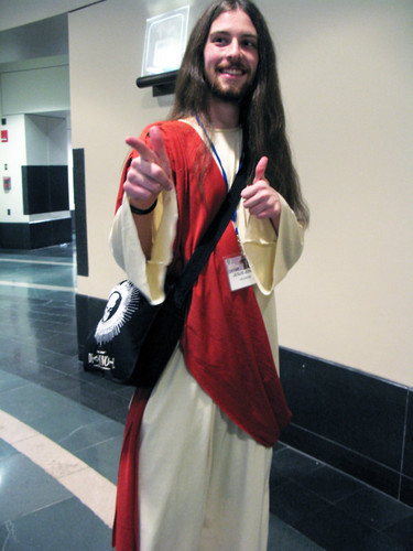 Jesus cosplayer