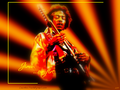 Jimi ...on fire - fanpressions wallpaper