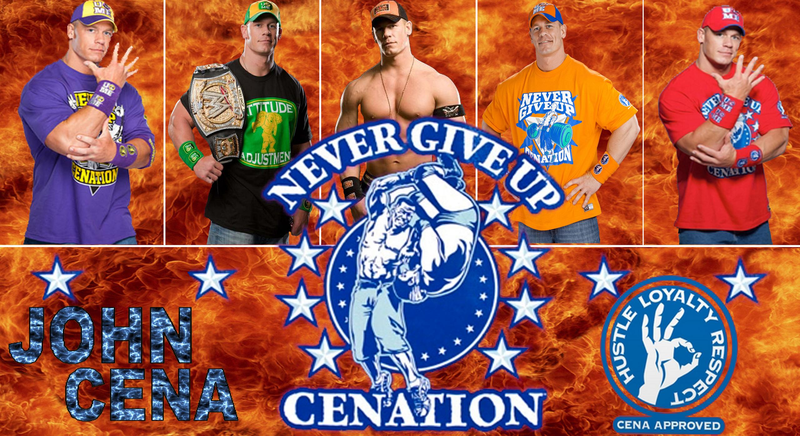 WWE John Cena's revoultion
