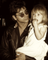 John Stamos and one of the Olson twins