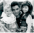 John Stamos and the Olson twins