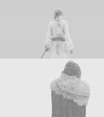 Jon & Arya