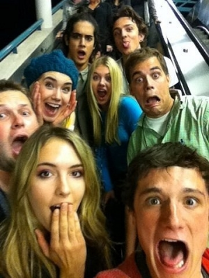 Josh and Detention cast