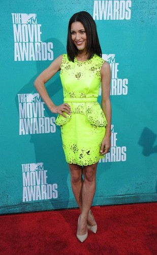 Julia Jones at the mtv Movie Awards 2012