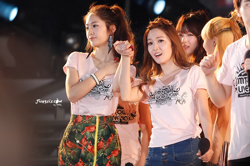 Jung Sisters @ SMTOWN In Taiwan