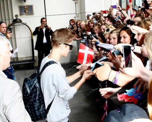 Justin in Berlin , 2012