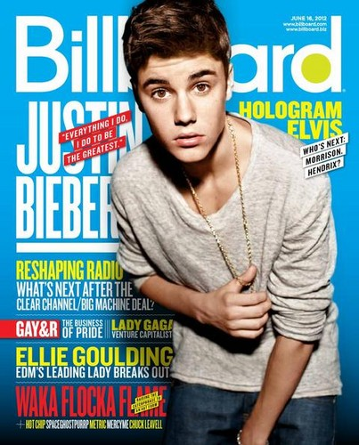 Justin on the cover of Billboard Magazine. - justin-bieber Photo